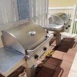 condo grilling area